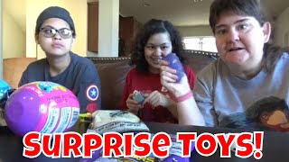 Mystery Toys! 5 Surprise,Sushi Cat And More!