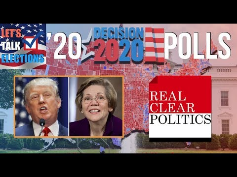Elizabeth Warren vs Donald Trump Based on 2020 Election Polls