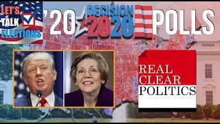 Elizabeth Warren vs Donald Trump Based on 2020 Election Polls