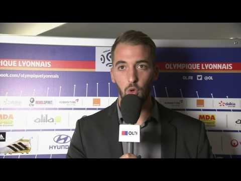 INTERVIEW AVANT MATCH JUVENTUS-OL / JORIS CATALANO