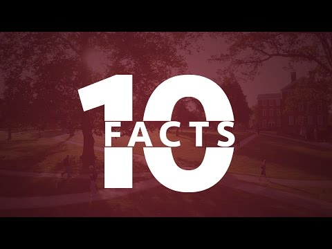 Hampden-Sydney College 10 Facts