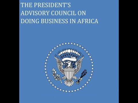 🔴WATCH: President's Advisory Council Meets Regarding Business in Africa