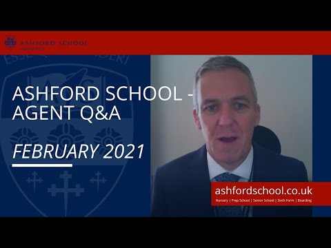 Ashford School Covid-19 Update for our Overseas Agents