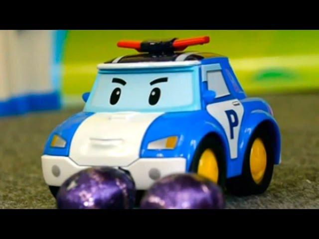 Робокар Поли. Развивающий мультфильм про Игрушечные Машинки. Учимся Считать.
