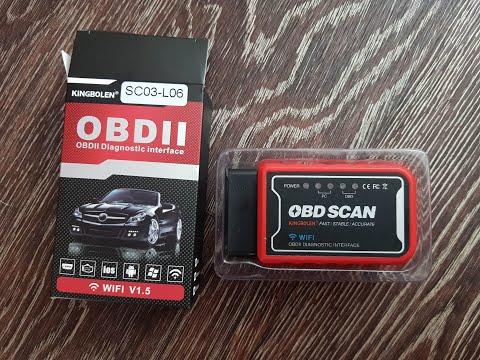 Проверка моего Nissan Leaf (Ниссан Лиф) Wi Fi OBD2 адаптером. Лиф спай Leaf Spy.
