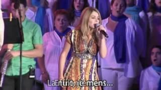 La nuit je mens - Julie Zenatti - Fous Chantants d'Alès - 2010