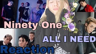 REACTION NINETY ONE - ALL I NEED / Q-POP