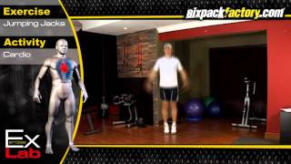 Jumping Jacks : Best Cardio Exercises