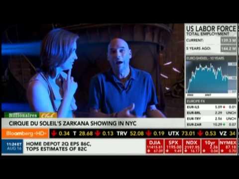 Bloomberg's Margaret Brennan interviews Guy Laliberte