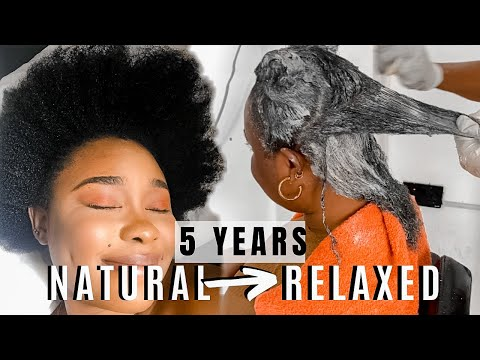 I RELAXED MY 4C NATURAL HAIR AFTER 5 YEARS IN LAGOS & HOW TO MAINTAIN RELAXED HAIR DEBORAH EMEM 2020
