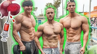 Taking beet Substances to make Vegan Gains ft. Simnett Nutrition & Brian Turner