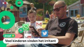 Gebruiken ouders hun mobieltjes te veel?