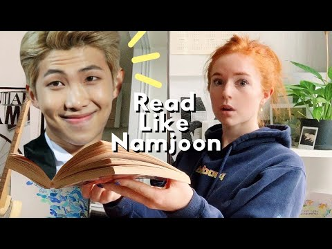 Reading Like BTS' Namjoon | RM's Book Recommendation List