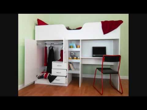 High Sleeper Cabin Beds for Kids and Teenagers  YouTube