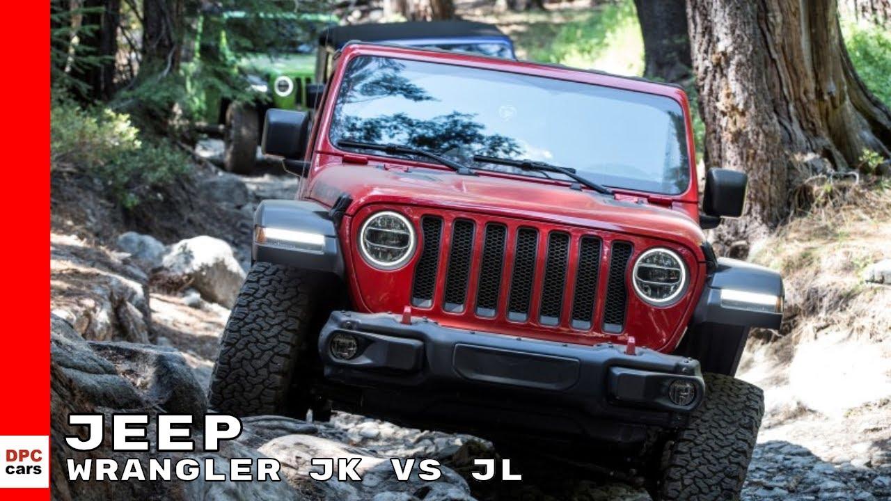 2019 Jeep Wrangler Jk Vs Jl Improvements Youtube