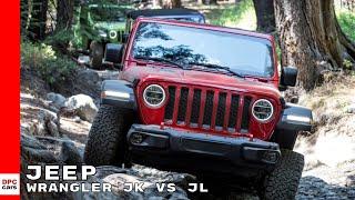 2019 Jeep Wrangler JK vs JL Improvements
