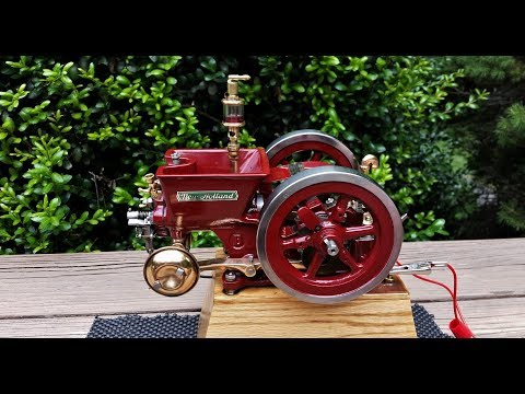 Half HP New Holland Hit and Miss Gas Engine One Third Scale Model The Governor  How does it work