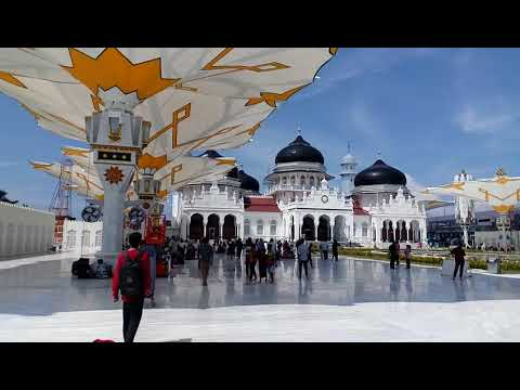 Grand Mosque Masjidil Baiturrahman Banda Aceh - Indonesia