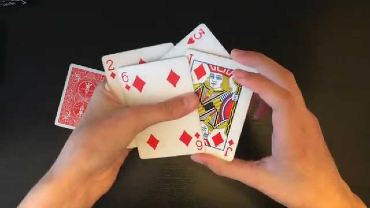 super cool biddle trick intermediate card trick revealed