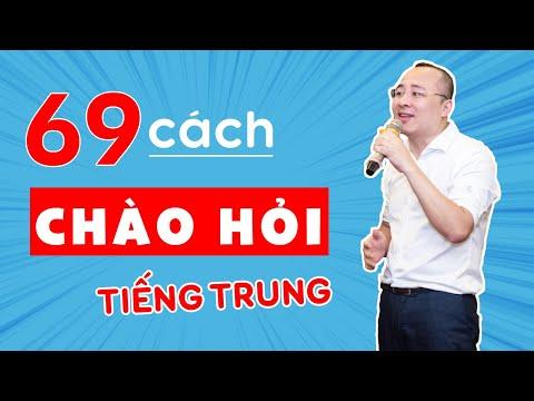 69 CÁCH CHÀO HỎI TRONG TIẾNG TRUNG