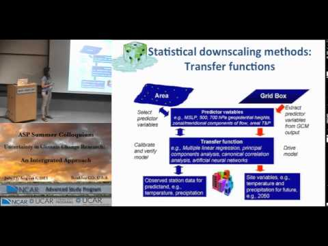 Downscaling and Uncertainty
