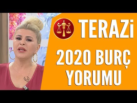 TERAZİ BURCU   Nuray Sayarı'dan 2020 burç yorumları