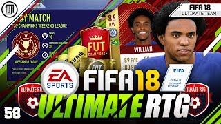 41212 OR 4231!!! FIFA 18 ULTIMATE ROAD TO GLORY! #58 - #FIFA18 Ultimate Team