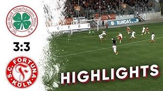 Rot-Weiß Oberhausen - Fortuna Köln 3:3 I Highlights I Regionalliga West