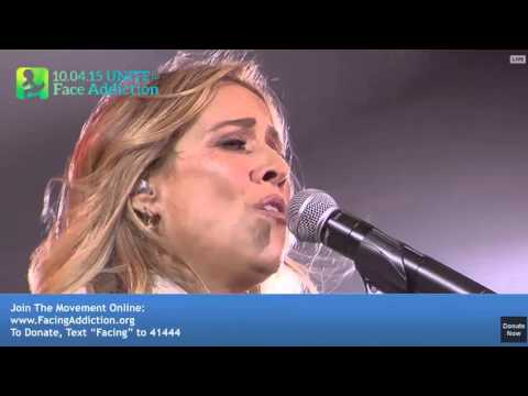Sheryl Crow – Concert for #?UNITEtoFaceAddiction? (25 Min. set)