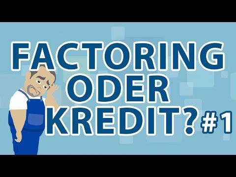 FACTORING ODER KREDIT #1: Lange Zahlungsziele