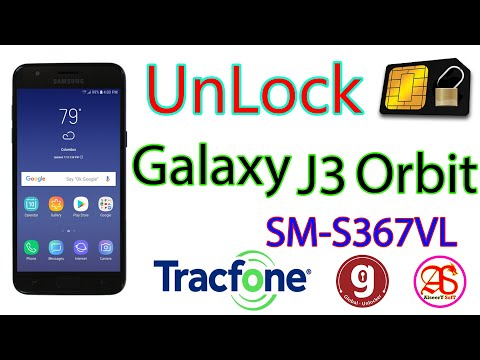 UnLock SIM Card | SAMSUNG Galaxy J3 Orbit | by global Unlocker pro