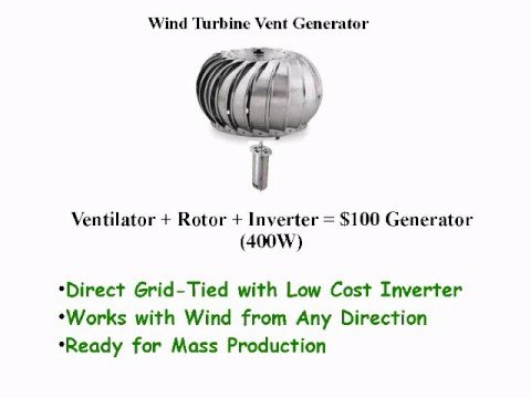 Solar Roof Cost >> Google Project 10^100 - Vertical Axis Wind Turbine ...