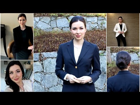 What to Wear to an Interview + Business Formal Tips!