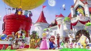 Super Mario Odyssey - Final Boss Rematch + Secret Ending (999 Moons)