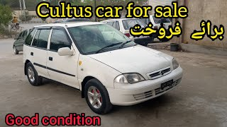 Suzuki cultus car for sale suzuki cultus car price in pakistan