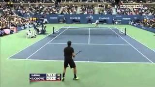 2010 US Open Final-Nadal vs Djokovic highlights HD part3