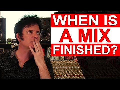 When is a mix finished? | FAQ Friday - Warren Huart: Produce Like A Pro