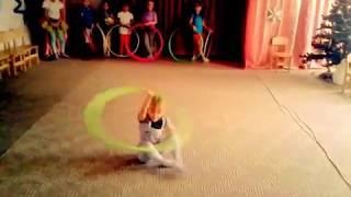 Движения для танцев с вращением обруча
