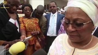 Pose de la Première Pierre de l'Unité de chirurgie cardio pédiatrique André Festoc au Mali