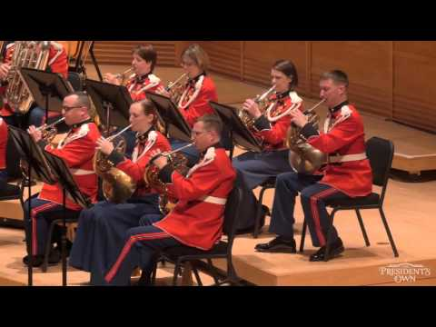 "WILLIAMS Star Wars: Main Title - ""The President's Own"" U.S. Marine Band"