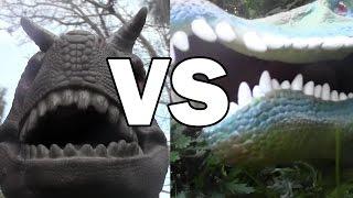 Dino Duels Ep. 2:  Spinosaurus vs Carnotaurus