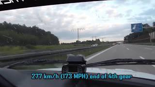 BMW E30 325i Turbo Autobahn Testruns