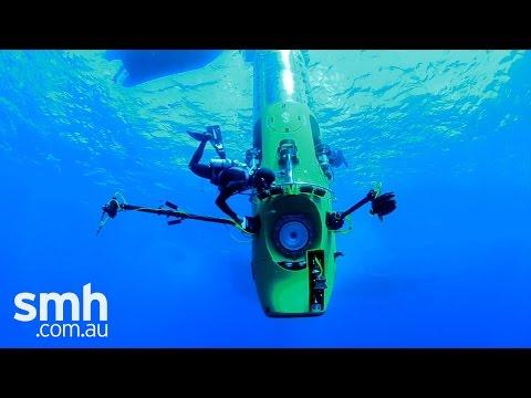 Inside James Cameron's Deepsea Challenger