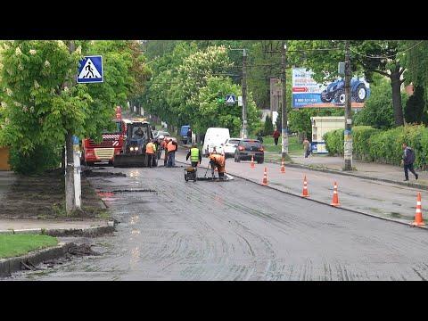 Суспільне Житомир: У Житомирі почали ремонтувати дорогу на вулиці Чуднівській та Леха Качинського