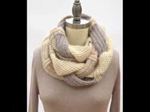 Challah Infinity Scarf - Knitting Pattern Presentation