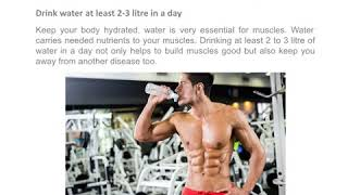 How to Build Muscle Mass Without Weights