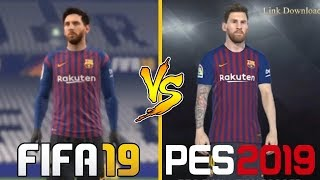 FIFA 19 VS PES 19 | Graphics Comparison