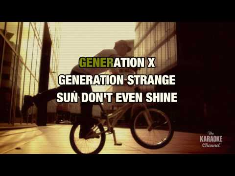 """My Generation (Clean Version) in the Style of """"Limp Bizkit"""" with lyrics (no lead vocal)"""