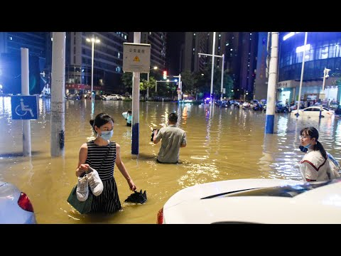 Severe Floods in China August 2020