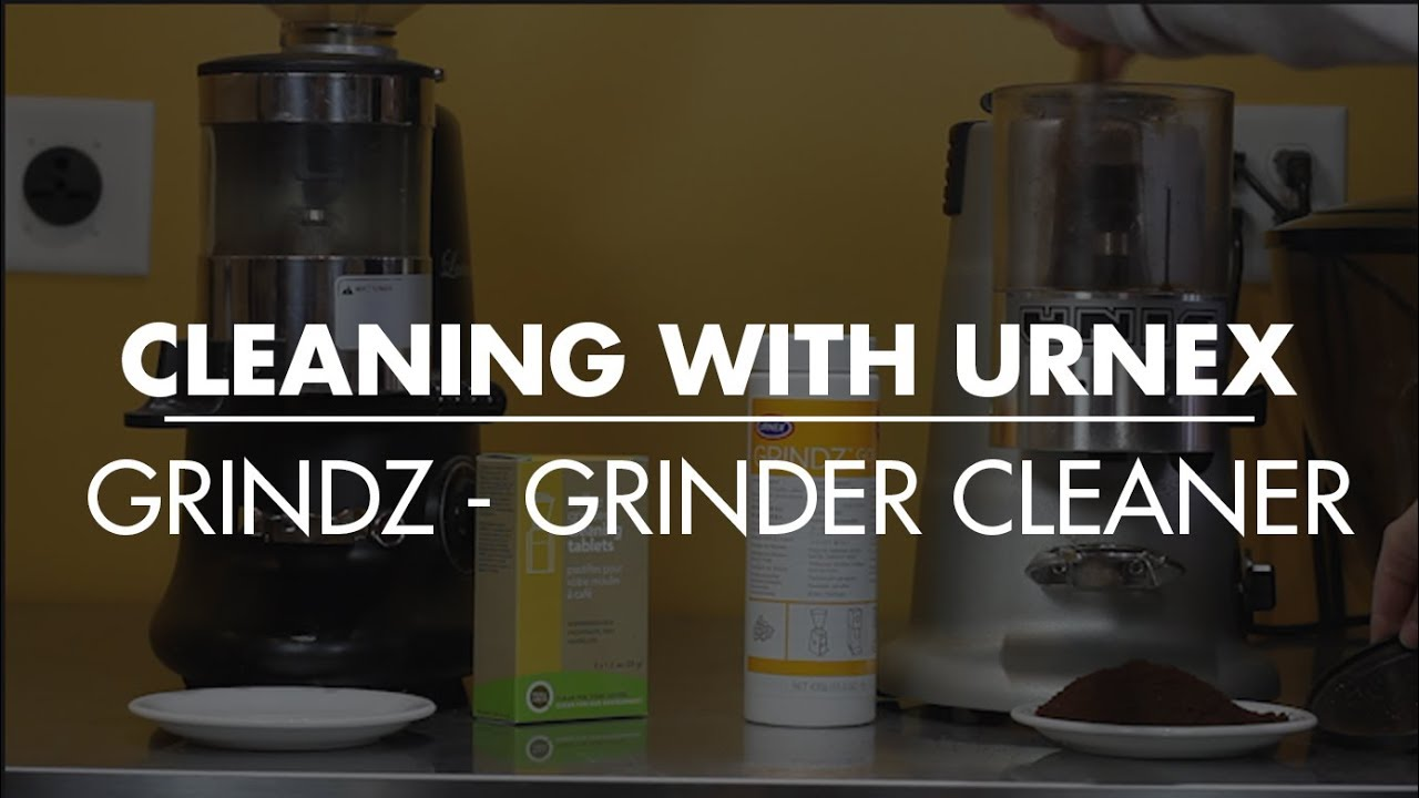 Cleaning With Urnex Grindz Grinder Cleaner Youtube